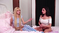 Lesbian roomies have orgasms - Darcie Dolce and Kenzie Reeves Preview