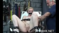 Remarkable floosy has some fun with a sex tool