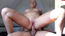 I fuck my cousin in anal until my wife sees! I like to cum in pussy! Vorschaubild