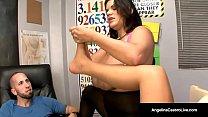 Cuban BJ Instructor Angelina Castro - How to Suck A Dick! Vorschaubild