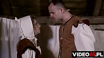 Polish porn - The heir's spoiled son takes advantage of the young maid