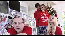 Step brother and sister sex front mom and dad