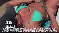 I LIKE TO GO IN THE PRIA TO AFTER SITTING YUMMY ON MY HUSBAND AND HE SEES THE BIKINI MARQUINHA - Watch NOW the full video at: cassianacosta.com