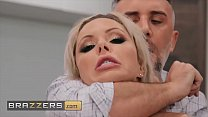 Stunning blonde (Nina Elle) gets a mouthful of ...