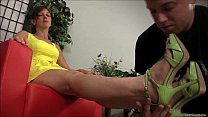 High Heels and Bare Foot Worship - Mistress Claire and Dante