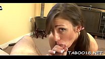 Smoking hot blonde legal age teenager takes pleasure working a hard one-eyed monster