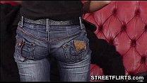 STREETFLIRTS.com - amateur sucks dick at porn casting