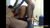 Curvy Black Girl gets pounded Doggystyle - fatbootycams.com