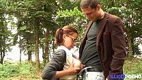 12993 Ninon, lycéenne salope enculée par son mec avant les cours preview