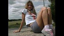 Screenshot blond teen publ ic upskirt