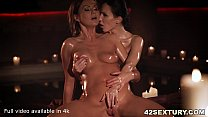 Passionate Lesbian Sex With Tina Kay And Lilu Moon صورة