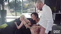 Lucky Stud Gets His Lollipop Licked by Lindsey Olsen & Sonia Lion