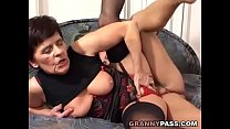 Busty Mom With Hairy Pussy Fucks Young Cock Vorschaubild