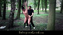 Slave used in the woods