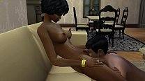 Dad And Ebony Teen Daughter Caught Fucking By A...