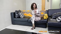 Married African Babe First Ass Fuck on Casting ...