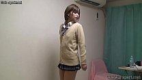 Japanese Schoolgirl Hikaru Undressing