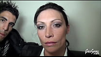 Sexy married milf Crystal has a threesome with two young cocks