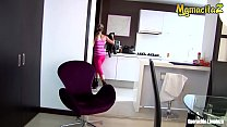 MAMACITAZ - Latina Cleaning Lady Laura Montenegro Got Tricked By Her Client - 69VClub.Com