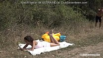 backpageatlanta » licking the sweet pussy of a horny curly teen outdoors thumbnail