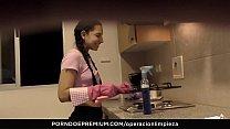 MAMACITAZ - #Matilde Ramos - Horny Latina Maid Squirting In Hot POV Fuck