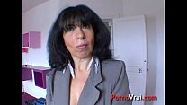 Sodomy of a hypersexual mature in the middle of...