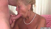 Naughty granny fucked infront of camera in hotel room Vorschaubild
