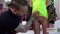 Cute tiny teen Carmen Rae gets pounded hard fro... thumb