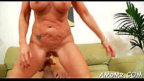 Wicked mama rides to acquire orgasm Thumbnail