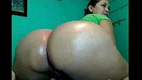 PERU - MRS TARAPOTINA puts a Cucumber up her Ass