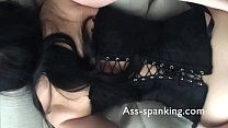 BDSM girl spanked and creampie - WATCH LIVE CAM AT ASS-SPANKING.COM image