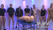 MMV FILMS Rough German Gangbang video