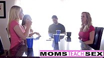 Screenshot MomsTeachSex Ho t Mom & Teen Friends Orgy F  Friends Orgy Fuck