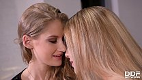 Horny Euro babes Tiffany Tatum and Alecia Fox e...