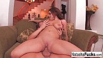 Naughty Natasha Takes The Cock