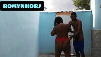 CHEIO DE TESÃO FUDENDO NO QUINTAL NA PELE