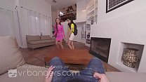 VR BANGERS Young student Harmony Wonder trying european dick image