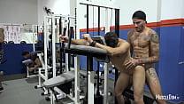 Sex in gym public