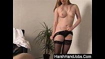 Harsh Handjob from Satine Spark