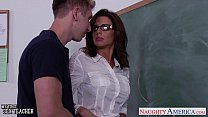 Stockinged sex teacher Veronica Avluv fuck in class thumbnail