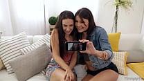 Let's do it on your Mom's bed! - Cassidy Klein, Reena Sky and Adria Rae Vorschaubild