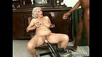 Interracial granny fuck pornhub video