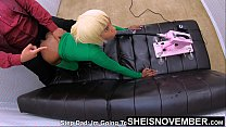 I Stole Step Dad Money, Now I Have To Pay. Pretty Black Step Daughter Msnovember Fauxcest Extreme Sex Machine Punishment. Nasty Hardcore BDSM Kink BJ And Cunt Violated , Huge Titties Areolas Close Up , While Her Mom Is Gone by Sheisnovember 4k Vorschaubild