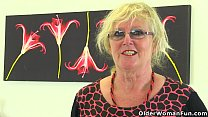 British gilf Claire Knight feels like a good st...
