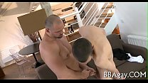 Trashy and explicit homo sex pornhub video
