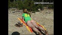 18 years old  teen at beach