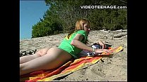 18 years old  teen at beach preview image