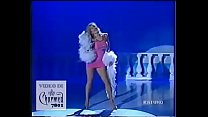 Simona Tagli - Stacchetto vestitino rosa 1 - Domenica In 1991