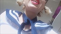 5656 Dad, you must punish your daughter. she is a really rude schoolgirl! pee on the floor! preview