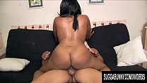 Big Booty Ebony Tiffany Staxxx Sucks and Rides